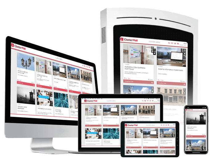 Responsive   Digital solutions for Municipalities - Civiq Dream by PARTTEAM & OEMKIOSKS