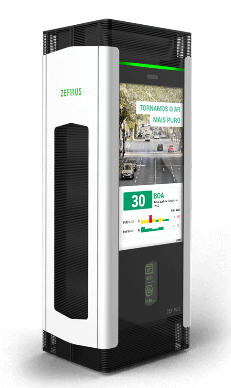 Air purifier for cities   Digital solutions for Municipalities - Civiq Dream by PARTTEAM & OEMKIOSKS