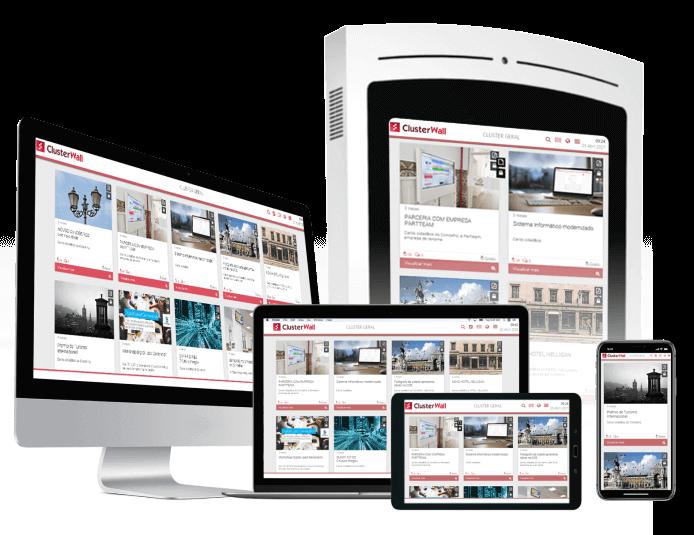 Responsivo | Soluções digitais para Municípios - Civiq Dream by PARTTEAM & OEMKIOSKS